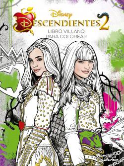 Descendientes 2 Libro Villano Para Colorear Disney Planeta De Libros