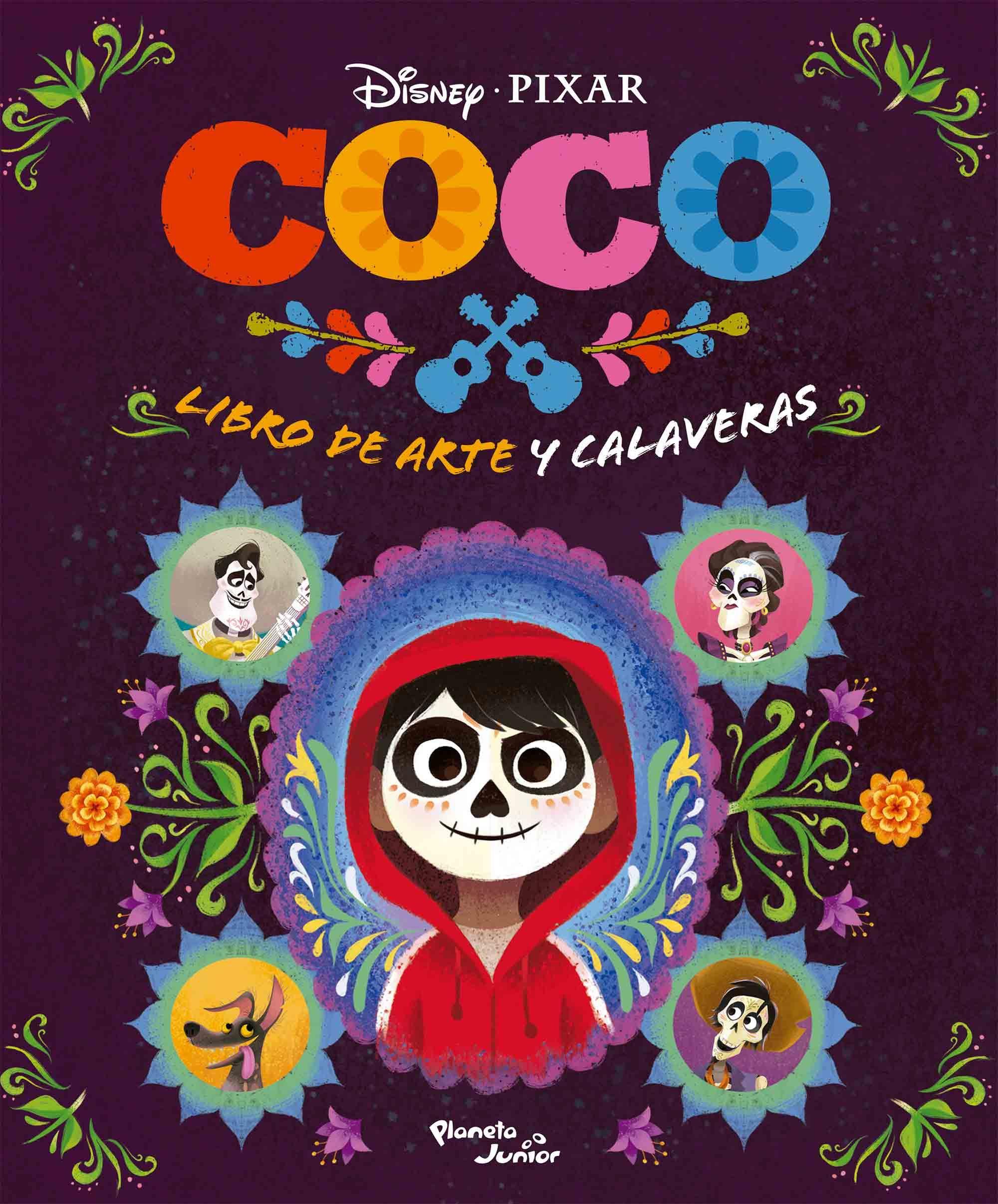 Coco. Libro de arte y calaveras | Planeta de Libros